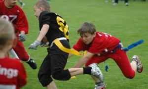 Flagfootball-Schulspiel