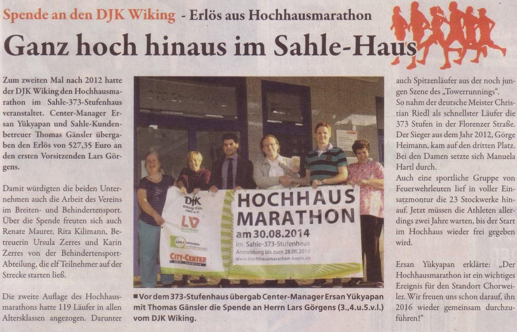KWSp-Hochhausmarathon-Spende_29.10.14