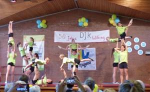 Akrobatik-Vorführung