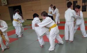 Judo-Kindergruppe