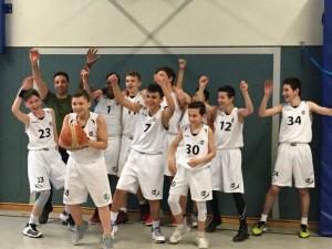 U14-Basketballer-Meistertitel