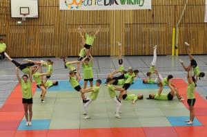 Sportschau-Akrobatik