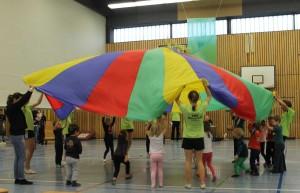 Sportschau-Kleinkinderturnen