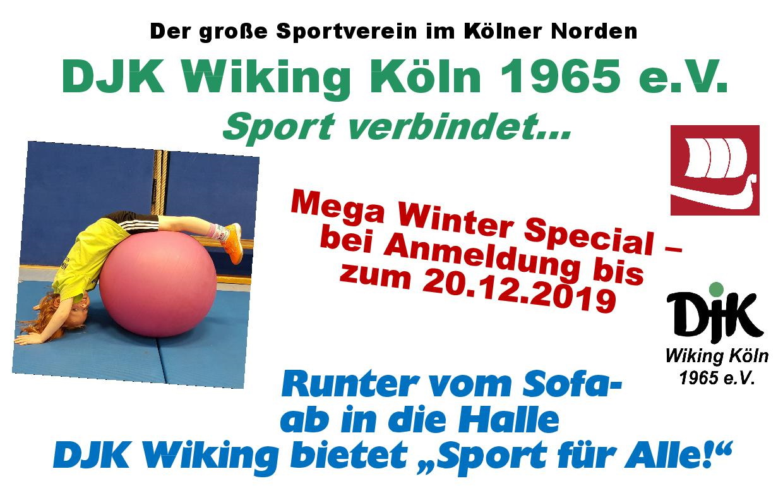 Djk Wiking Köln 1965 Ev Der Große Sportverein Im Kölner